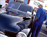 Vintage cars, hot rods, motorcycles line Polson streets